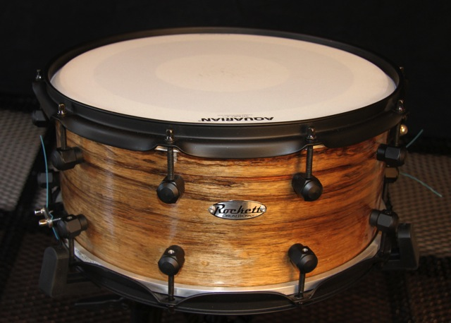 6.5x14 Steam Bent Curly Limba