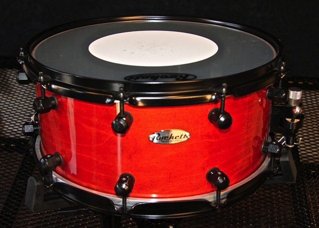 6.5x14Orange Maple Over Carbon Fiber